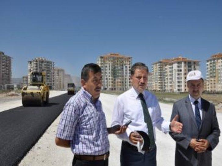 Malatya Belediye Başkanı Ahmet Çakır, Asfalt Çalışmalarını İnceledi