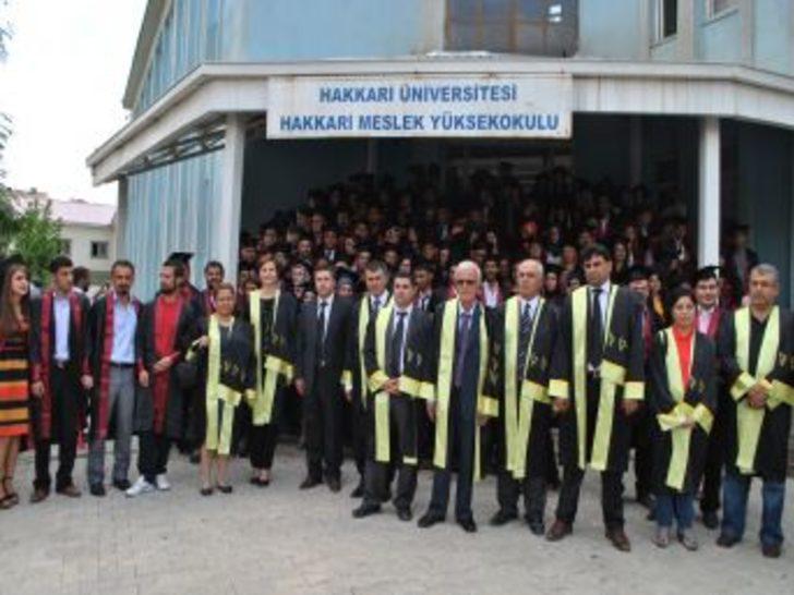 Hakkari Üniversitesi 4. Mezunlarını Verdi