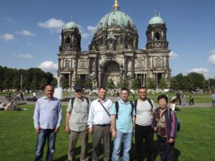 Aydın Memurlar Derneği Almanya Proje Ekibi Yurda Döndü