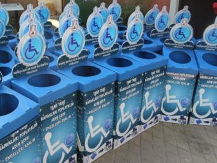 Karamürsel Belediyesi'nden Mavi Kapak Toplama Kampanyası