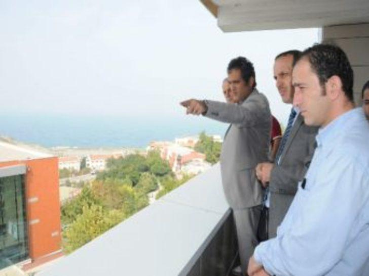 Kgd'den, Beü Rektörü Prof. Dr. Mahmut Özer'e Ziyaret