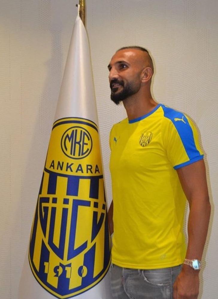 Ankaragücü Yalçın Ayhan ile 1 yıllık sözleşme imzaladı!