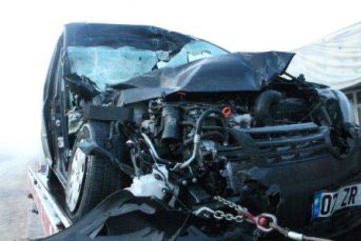 Antalya Elmalı'da trafik kazası 1 ölü