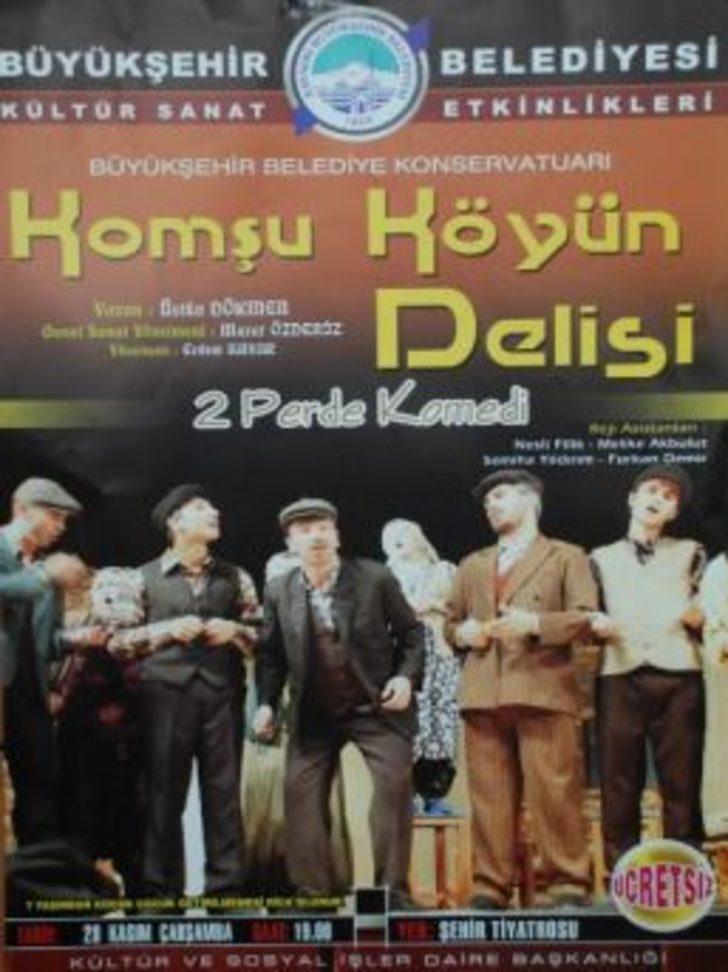 Tiyatrocu İnan Ulaş Torun, Tiyatro Severlerle Buluşacak