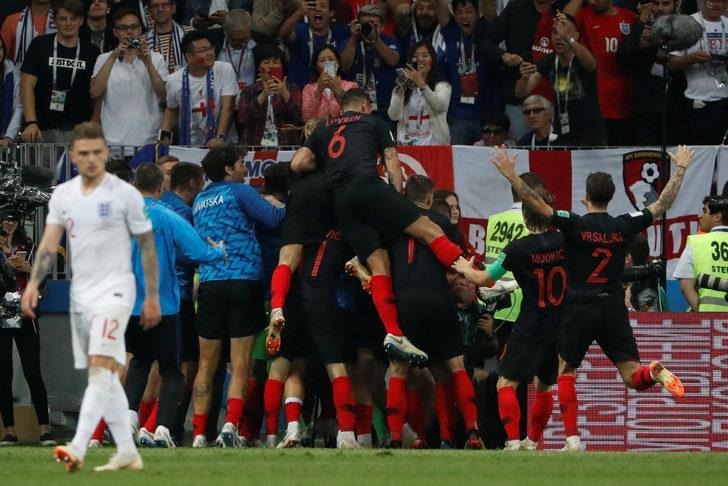 Hırvatistan 2 - 1 İngiltere (Maç özeti)