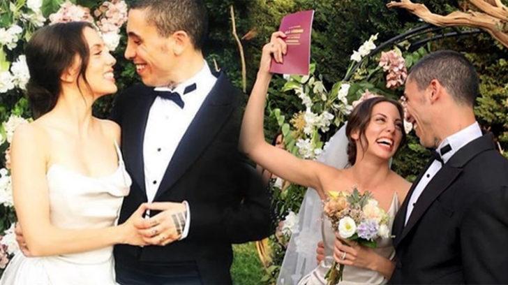 Can Bonomo ve Öykü Karayel evlendi! İşte düğünden görüntüler