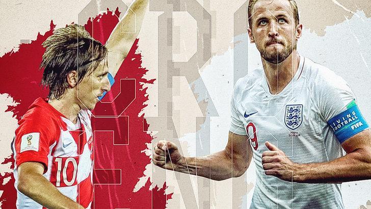 CANLI | Hırvatistan - İngiltere