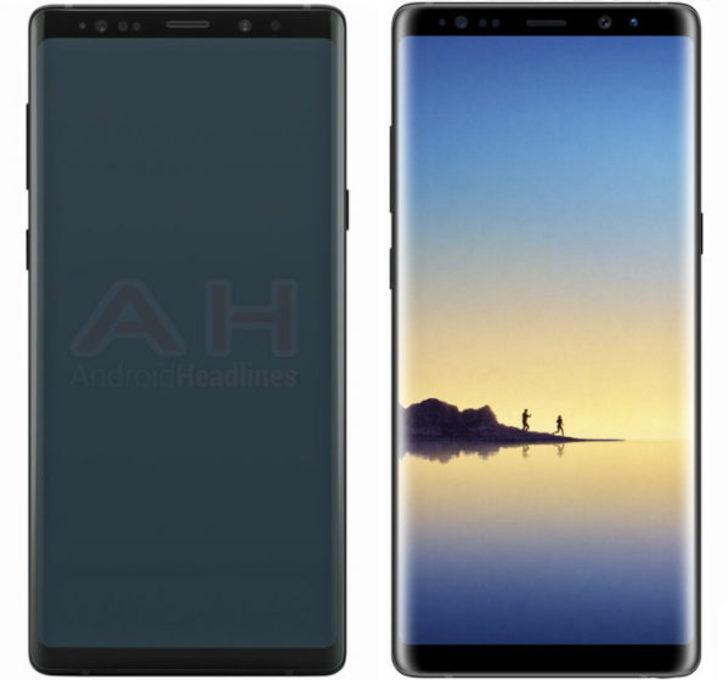Galaxy Note 9 böyle görünecek