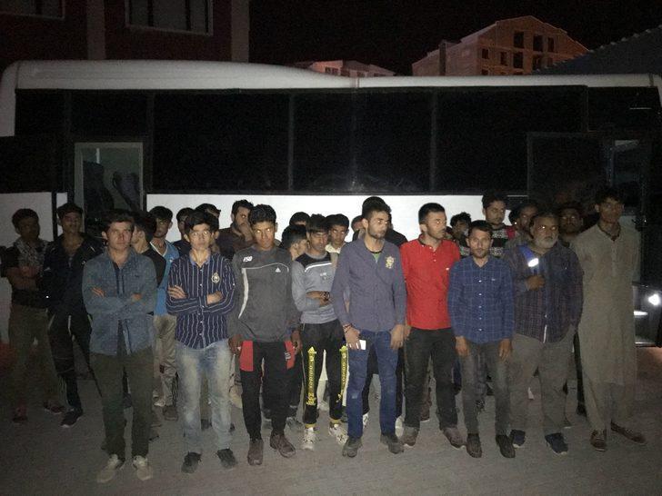 Van'da 182kaçak yakalandı