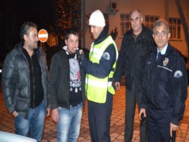 Turgutlu'da Yeni Yılın İlk Trafik Cezası
