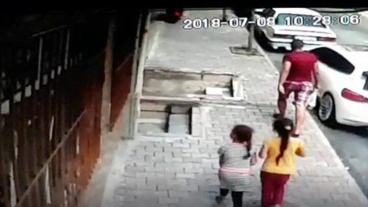 Taciz skandalı! Çocukların çığlıklarını duyan mahalleli yardıma koştu