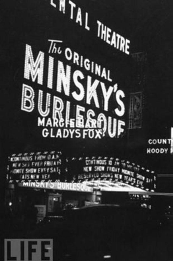 Striptizin tarihi