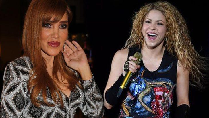 Seren Serengil'in 'Shakira' yorumu alay konusu oldu