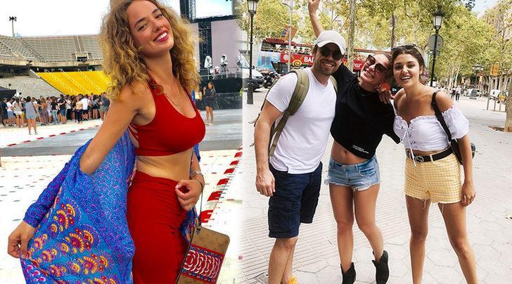 Ünlü isimler Barselona'da Beyonce konserinde buluştu