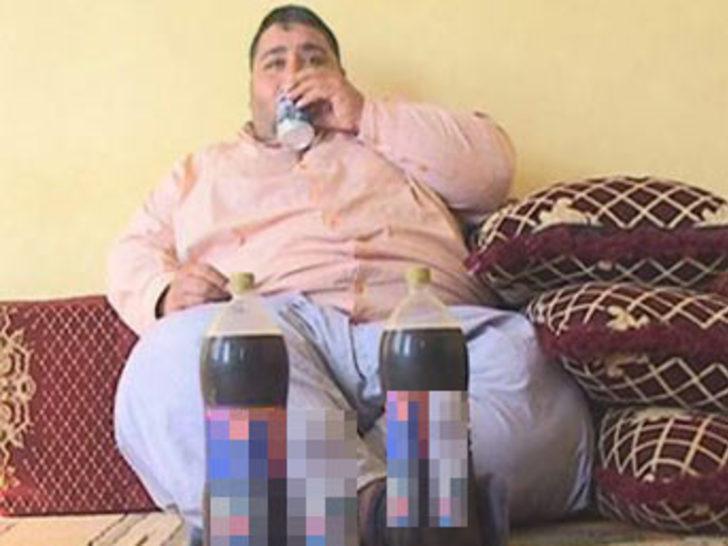 Kola bağımlısı genç 200 kiloya ulaştı