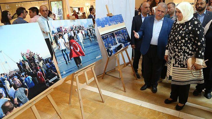 15 Temmuz fotoğrafları gazi milletvekili Öçal'ı duygulandırdı