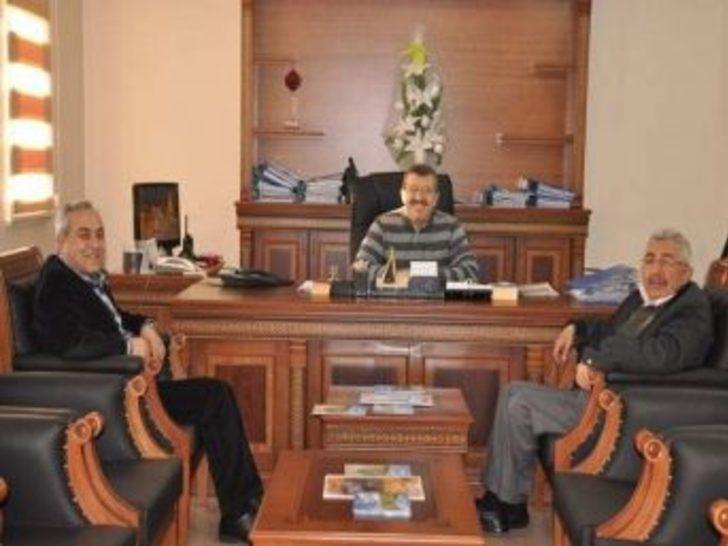 Kayın Su Fabrikası Yetkililerinden Başkan Baş'a Ziyaret