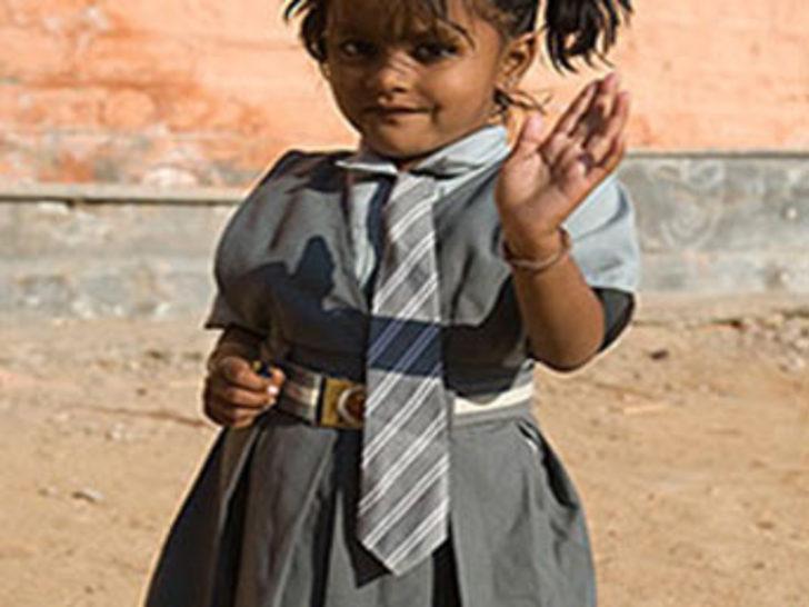 'Ahtapot kız' okula başladı