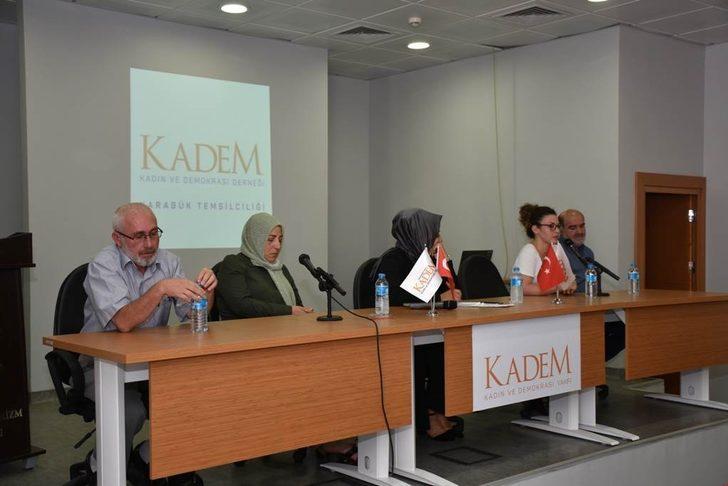 KADEM'den '15 Temmuz İzlerine Kadın Duruşu' paneli