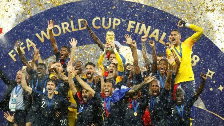 Fransa Dünya Şampiyonu