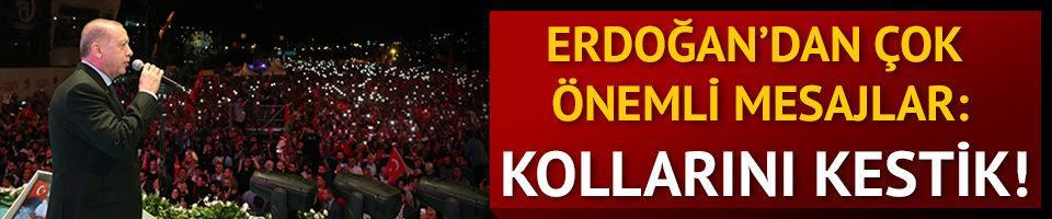 Cumhurbaşkanı Erdoğan şehitleri anma töreninde! Çok önemli mesajlar