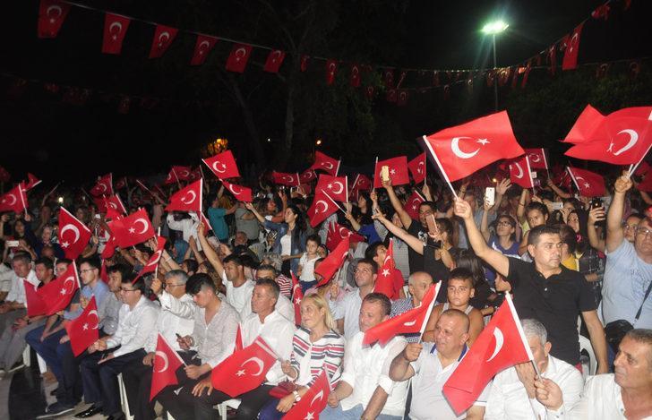 Antalya'da 'Milli Birlik Yürüyüşü' (2)