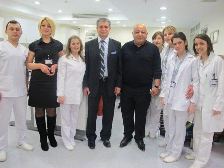 Kaymakam Dogan Dan Reyap Hastanesine Ziyaret Tekirdag