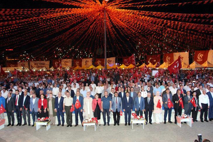 Gaziantep'te 15 Temmuz coşkuyla kutlandı