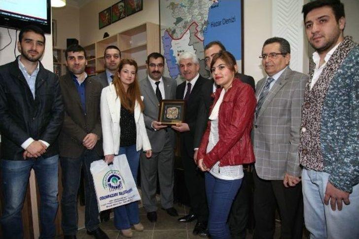 Başkan Sakallı'dan 'azerbaycan Kültür Evi' Müjdesi