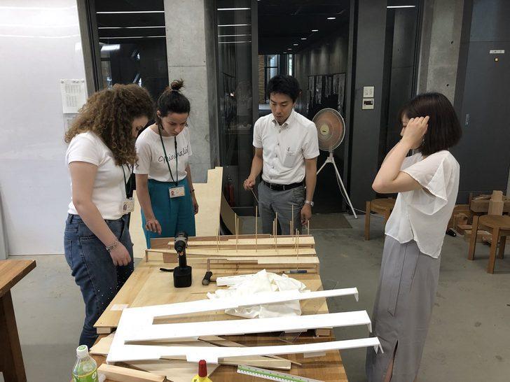 Mimar adayları, Japonya'yı deneyimliyor