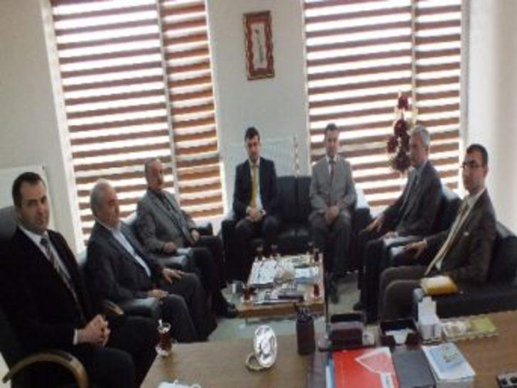 Başkan Vekili Yavuz'dan Tkdk'ya Ziyaret