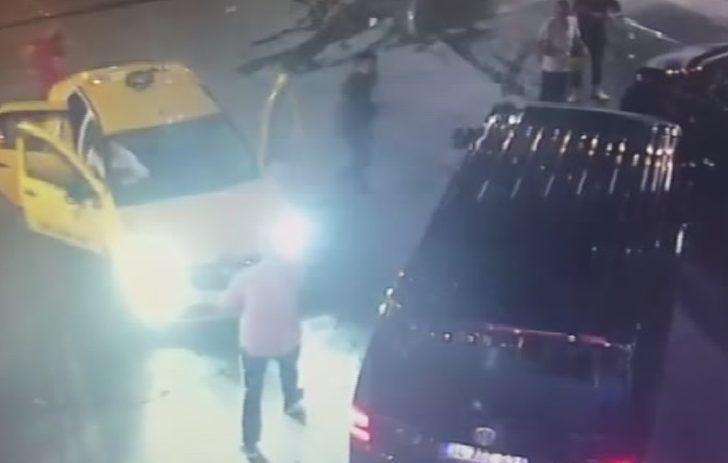 UBER Sürücüsüne saldırı kamerada