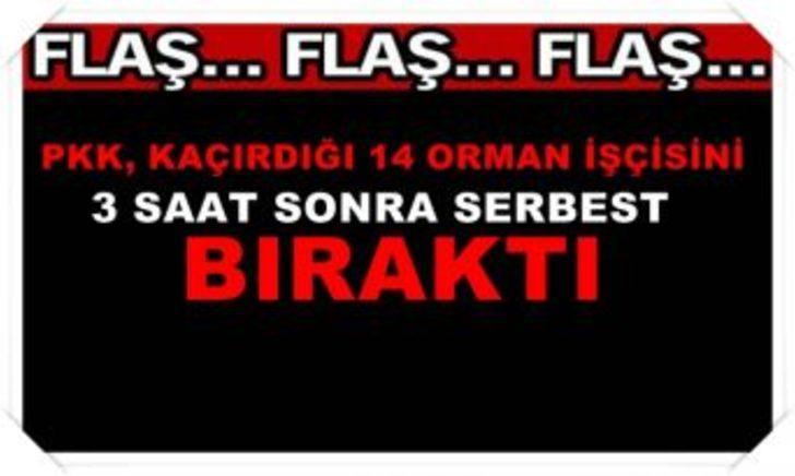 PKK Orman işçilerini kaçırdı