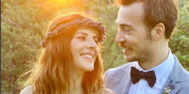 Esin Alpoğan ve Görkem Mertsöz Bozcaada'da evlendi