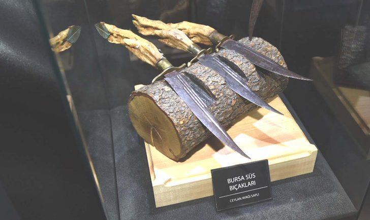 'Bursa bıçağı' tescillendi