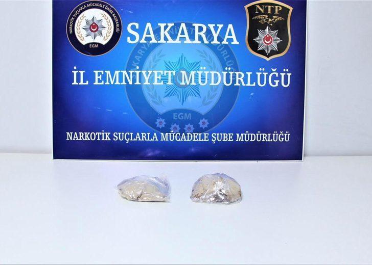 Otobüsteki kadın yolcuda 670 gram eroin ele geçirildi