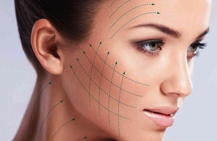 Güzelliğin yeni formülü: 30 dakikada''iple yüz germe''