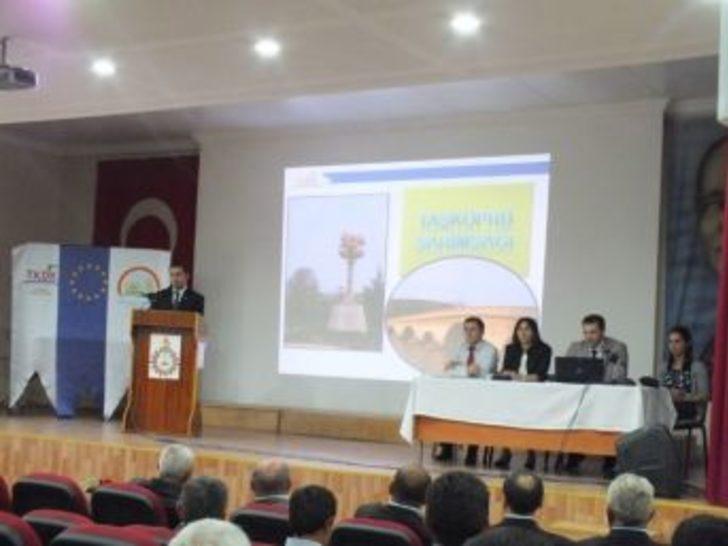 Tkdk, Taşköprü'de Sarımsak Üreticilerini Bilgilendirdi