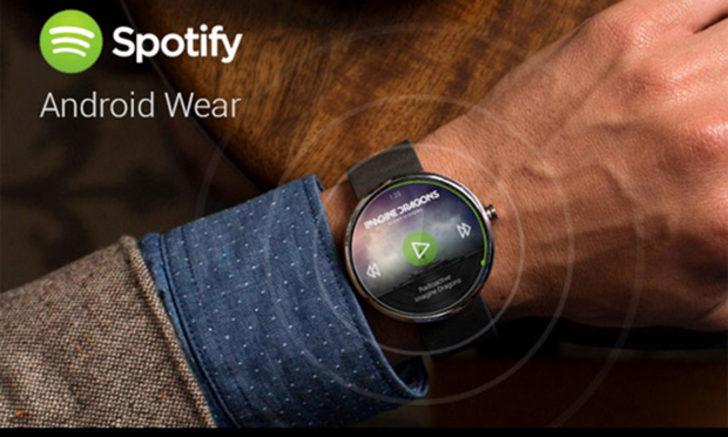 Spotify Wear OS'a adapte edildi