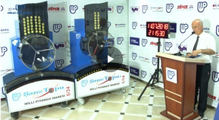 Şans Topu sonuçları 18 Temmuz: 722 bin lira ikramiyeyi kazanan olmadı! (MPİ Şans Topu sonucu sorgula)