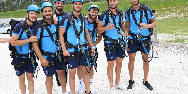 Trabzonspor'da antrenman iptal edildi, futbolcular stres attı