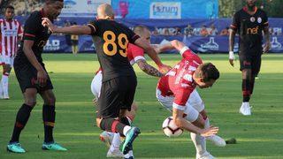 G.Saray'a şok skor! 4 gol ve yenilgi...