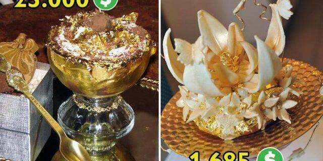 Dünyanın en pahalı tatlısı: 120 bin TL!