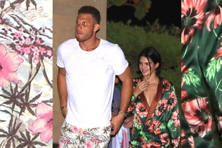 Griffin, bir süre önce ünlü manken sevgilisi Kendall Jenner ile ayrılmıştı.