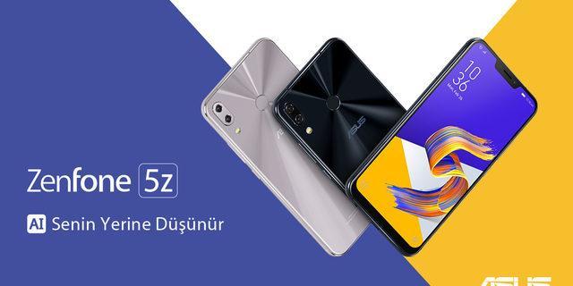 Asus'un yeni telefonu ZenFone5Z satışa çıkıyor