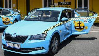 Artık taksiler böyle olacak!