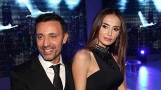 Emina Jahovic ünlü iş adamıyla birlikte