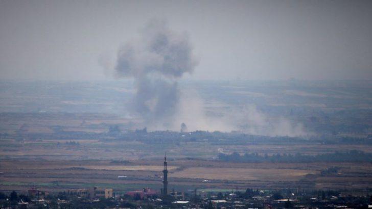 'Suriye'de İsyancılar Golan Tepeleri Sınırını Boşaltıyor'