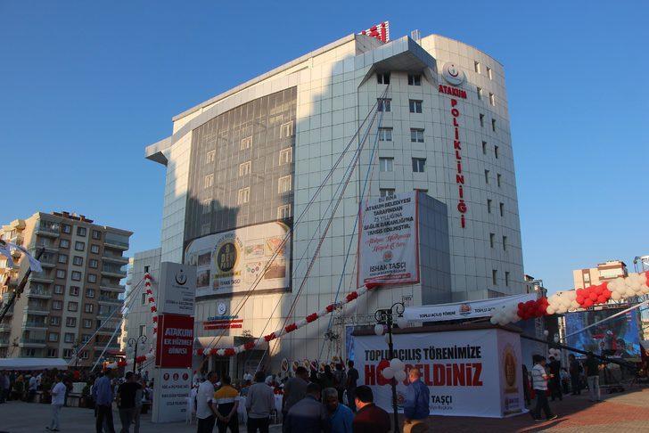 TBMM eski Başkanı Kahraman Samsun'da toplu açılış yaptı