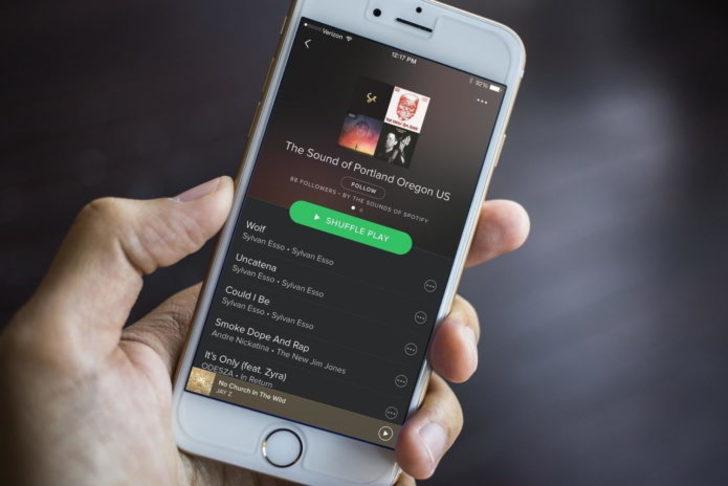 Spotify iOS için güncellendi!
